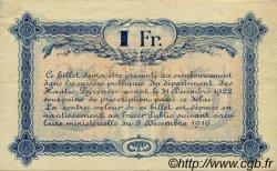 1 Franc FRANCE régionalisme et divers TARBES 1919 JP.120.22 TTB à SUP