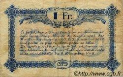 1 Franc FRANCE régionalisme et divers TARBES 1919 JP.120.22 TB