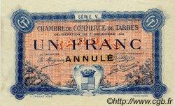 1 Franc FRANCE régionalisme et divers Tarbes 1919 JP.120.23 TTB à SUP