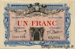 1 Franc FRANCE régionalisme et divers TOULON 1916 JP.121.04 TTB à SUP