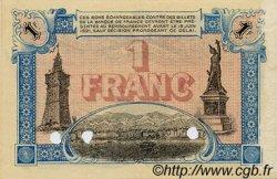 1 Franc FRANCE régionalisme et divers TOULON 1916 JP.121.05 TTB à SUP