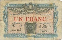 1 Franc FRANCE régionalisme et divers Toulon 1916 JP.121.08 TB