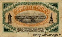50 Centimes FRANCE régionalisme et divers TOULON 1917 JP.121.10 TB