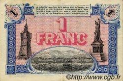 1 Franc FRANCE régionalisme et divers TOULON 1917 JP.121.16 SPL à NEUF
