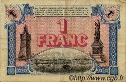 1 Franc FRANCE régionalisme et divers TOULON 1917 JP.121.16 TB