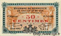 50 Centimes FRANCE régionalisme et divers TOULON 1917 JP.121.18 SPL à NEUF