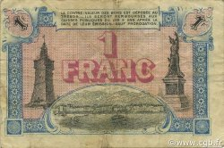 1 Franc FRANCE régionalisme et divers TOULON 1917 JP.121.20 TB