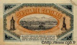 50 Centimes FRANCE régionalisme et divers Toulon 1919 JP.121.26 TTB à SUP