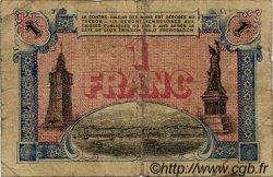 1 Franc FRANCE régionalisme et divers Toulon 1919 JP.121.27 TB