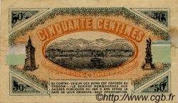 50 Centimes FRANCE régionalisme et divers Toulon 1919 JP.121.28 TTB à SUP