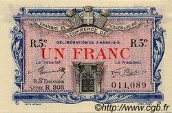 1 Franc FRANCE régionalisme et divers Toulon 1919 JP.121.29 TTB à SUP