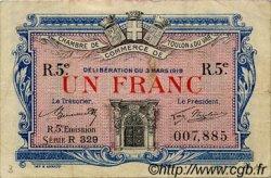 1 Franc FRANCE régionalisme et divers TOULON 1919 JP.121.29 TB