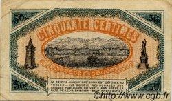50 Centimes FRANCE régionalisme et divers TOULON 1920 JP.121.30 TB