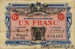 1 Franc FRANCE régionalisme et divers Toulon 1920 JP.121.31 TB