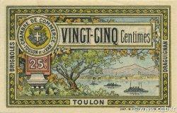 25 Centimes FRANCE régionalisme et divers TOULON 1921 JP.121.33 SPL à NEUF