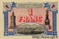1 Franc FRANCE régionalisme et divers Toulon 1922 JP.121.36 SPL à NEUF