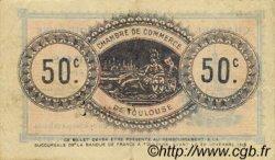 50 Centimes FRANCE régionalisme et divers TOULOUSE 1914 JP.122.01 TTB à SUP