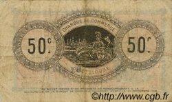 50 Centimes FRANCE régionalisme et divers TOULOUSE 1914 JP.122.01 TB