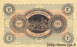 1 Franc FRANCE régionalisme et divers Toulouse 1914 JP.122.06 TTB à SUP