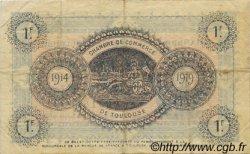 1 Franc FRANCE régionalisme et divers TOULOUSE 1914 JP.122.06 TB
