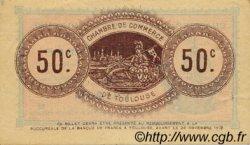 50 Centimes FRANCE régionalisme et divers TOULOUSE 1914 JP.122.08 TTB à SUP