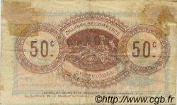 50 Centimes FRANCE régionalisme et divers TOULOUSE 1914 JP.122.13 TB