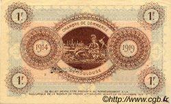 1 Franc FRANCE régionalisme et divers TOULOUSE 1914 JP.122.14 TTB à SUP