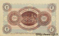 1 Franc FRANCE régionalisme et divers Toulouse 1914 JP.122.18 SPL à NEUF