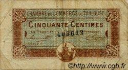 50 Centimes FRANCE régionalisme et divers TOULOUSE 1917 JP.122.22 TB