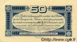 50 Centimes FRANCE régionalisme et divers TOULOUSE 1920 JP.122.39 TTB à SUP