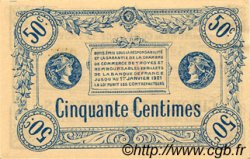 50 Centimes FRANCE régionalisme et divers TROYES 1918 JP.124.05 TTB à SUP