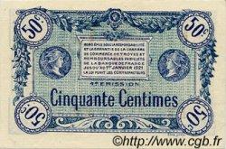50 Centimes FRANCE régionalisme et divers Troyes 1918 JP.124.07 SPL à NEUF