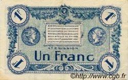 1 Franc FRANCE régionalisme et divers Troyes 1918 JP.124.08 TTB à SUP