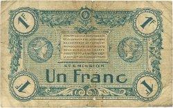 1 Franc FRANCE régionalisme et divers Troyes 1918 JP.124.08 TB