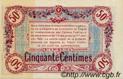 50 Centimes FRANCE régionalisme et divers TROYES 1918 JP.124.09 SPL à NEUF