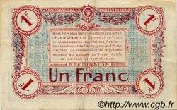 1 Franc FRANCE régionalisme et divers Troyes 1918 JP.124.10 TTB à SUP