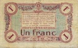 1 Franc FRANCE régionalisme et divers TROYES 1918 JP.124.10 TB