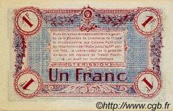 1 Franc FRANCE régionalisme et divers TROYES 1918 JP.124.12 SPL à NEUF