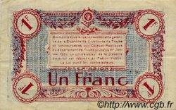 1 Franc FRANCE régionalisme et divers TROYES 1918 JP.124.12 TTB à SUP