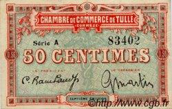 50 Centimes FRANCE régionalisme et divers TULLE 1918 JP.125.01