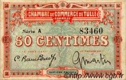 50 Centimes FRANCE régionalisme et divers Tulle 1918 JP.125.01 TB