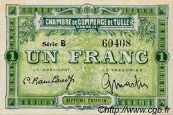 1 Franc FRANCE régionalisme et divers TULLE 1918 JP.125.02 SPL à NEUF