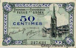 50 Centimes FRANCE régionalisme et divers TULLE ET USSEL 1918 JP.126.01 SPL à NEUF