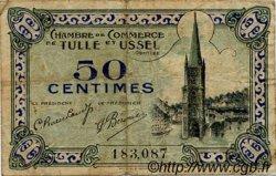 50 Centimes FRANCE régionalisme et divers TULLE ET USSEL 1918 JP.126.01 TB
