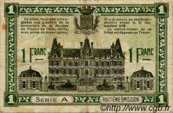 1 Franc FRANCE régionalisme et divers TULLE ET USSEL 1918 JP.126.03 TB