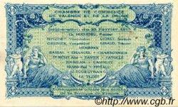 50 Centimes FRANCE régionalisme et divers Valence 1915 JP.127.01 TTB à SUP