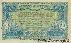 50 Centimes FRANCE régionalisme et divers VALENCE 1915 JP.127.02 SPL à NEUF
