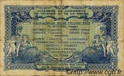 50 Centimes FRANCE régionalisme et divers Valence 1915 JP.127.02 TB