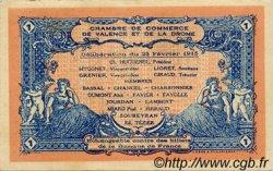 1 Franc FRANCE régionalisme et divers VALENCE 1915 JP.127.03 SPL à NEUF