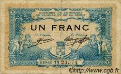 1 Franc FRANCE régionalisme et divers VALENCE 1915 JP.127.04 TB